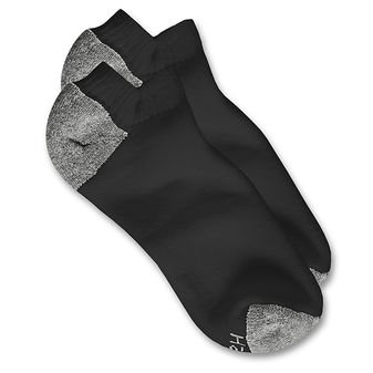 Hanes Classics Men\'s Low Cut Socks 10-Pack 88/10