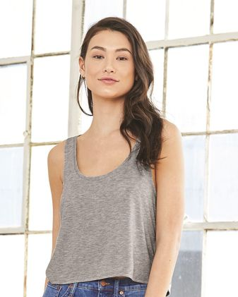 BELLA + CANVAS Women\'s Flowy Boxy Tank 8880