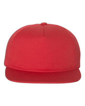 Yupoong Unstructured Five-Panel Snapback Cap 6502