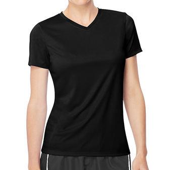 Hanes Womens Cool DRI V-Neck T-Shirt 483V