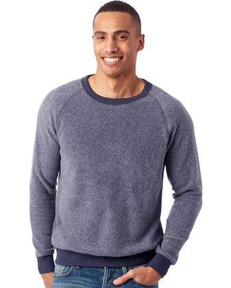 Alternative Eco-Teddy Champ Crewneck Sweatshirt 9575RT