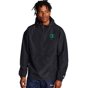 Champion Packable Jacket. Pop Color Logo V1012 550750