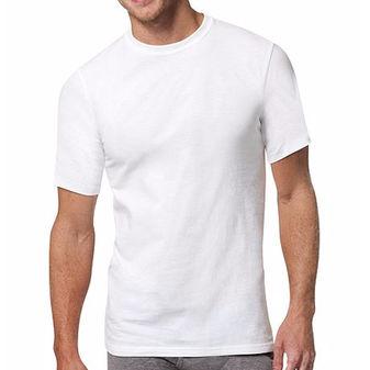 Hanes Men\'s Red Label X-Temp White Crew Undershirt 6-Pack 2535X6