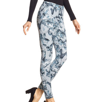 HUE Cali Bird Simply Stretch Leggings U18019