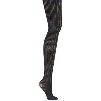 DKNY Variegated Rib-Knit Women\'s Tights 0C174