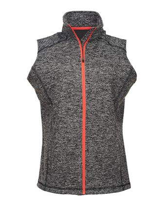 J. America Women\'s Cosmic Fleece Vest 8625