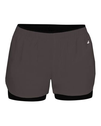 Badger Women\'s Double Up Shorts 6150