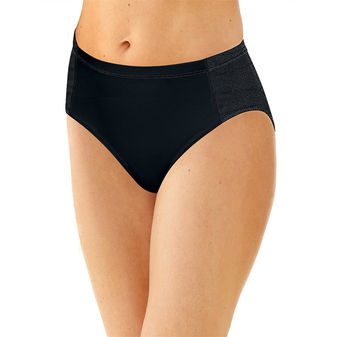 Bali Active Cool Comfort Hi Cut Briefs 2A62