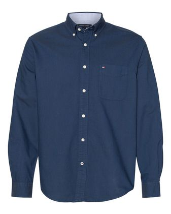 Tommy Hilfiger New England Solid Oxford Shirt 13H1864