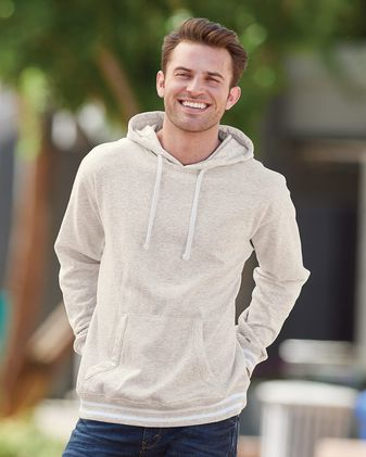 J. America Relay Fleece Hooded Sweatshirt 8649