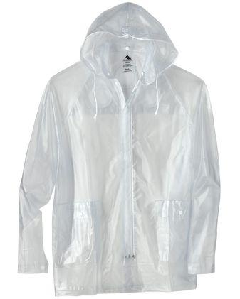 Augusta Sportswear Clear Hooded Rain Jacket 3160