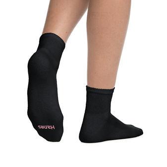 Hanes Women\'s ComfortBlend Ankle Socks 6-Pack 403/6P