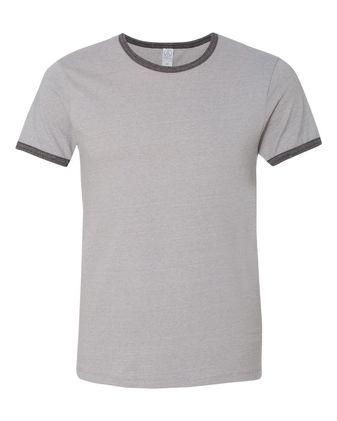 Alternative Eco Mock Twist Ringer Crew T-Shirt 1957