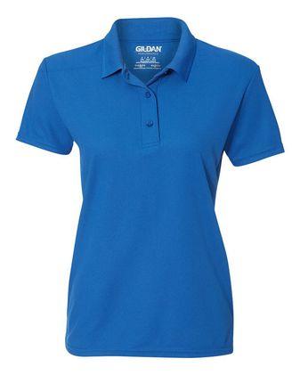 Gildan Performance Women\'s Double Pique Sport Shirt 45800L