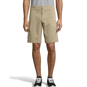 Hanes Sport Men\'s Woven Utility Shorts O5443