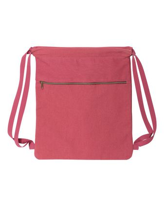 Liberty Bags Pigment-Dyed Canvas Drawstring Bag 8877