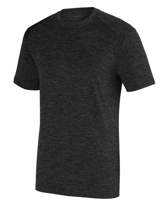 Augusta Sportswear Intensify Black Heather Training Tee 2950