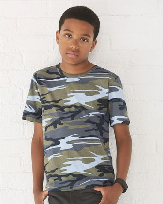 Code Five Youth Camouflage T-Shirt 2206