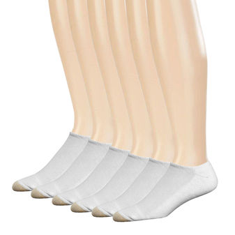 Gold Toe Mens Cotton Liner Athletic Sock, 6-Pack