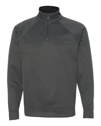 Jerzees Dri-Power Sport Quarter-Zip Cadet Collar Sweatshirt PF95MR