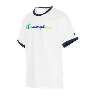 Champion Classic Jersey Ringer Tee, Gradient Logo GT20H Y08125