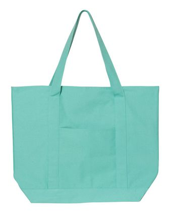 Liberty Bags Pigment Dyed Premium XL Boater Tote 8879