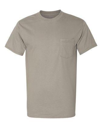 Hanes Beefy-T with a Pocket 5190