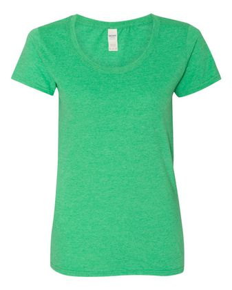 Gildan Softstyle® Women\'s Deep Scoop Neck T-Shirt 64550L