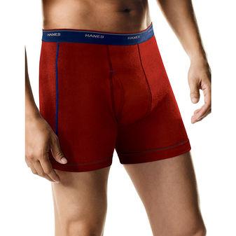 Hanes Men\'s FreshIQ™ Sport-Inspired Boxer Briefs 6-Pack (5 + 1 Free Bonus Pack) 2396Z6