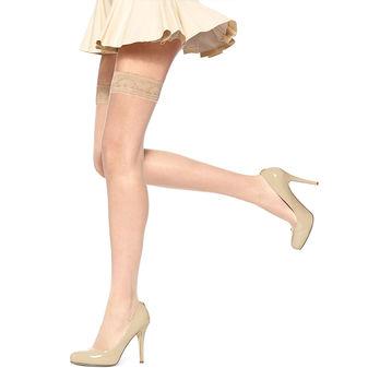 HUE So Sexy French Lace Thigh-Hi U5971N