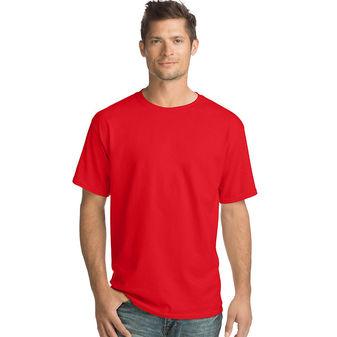 Hanes Men\'s TAGLESS® ComfortSoft® Crewneck T-Shirt 5280