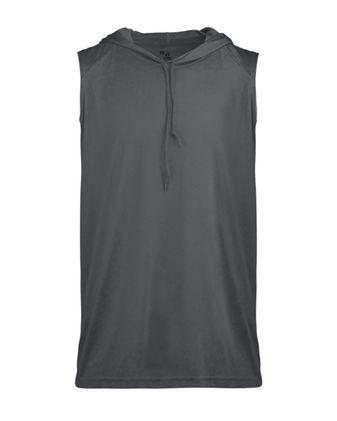 Badger B-Core Sleeveless Hooded T-Shirt 4108