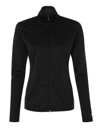 Champion Women\'s Colorblocked Performance Full-Zip Sweatshirt S260