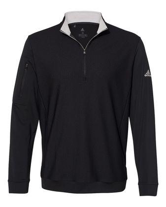 Adidas Performance Texture Quarter-Zip Pullover A295