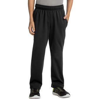 Hanes Sport Boy\'s Tech Fleece Open Leg Pants OD260