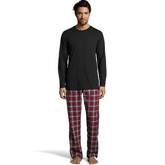 Hanes Men\'s Jersey Flannel Sleep Set 03003B