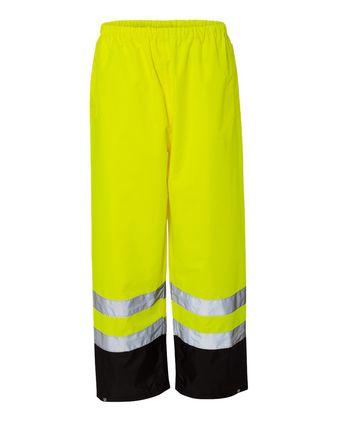Kishigo Storm Cover Waterproof Rain Pants RWP102-103