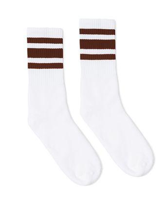 SOCCO Striped Crew Socks SC100