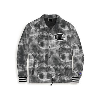 Champion Life Men\'s Coaches Jacket, Big C Logo V5089P 549973