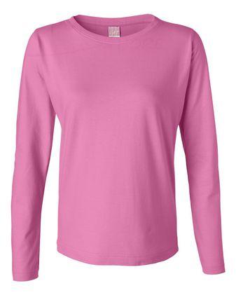 LAT Women\'s Long Sleeve Premium Jersey Tee 3588