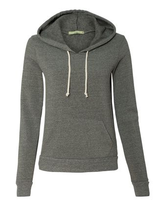 Alternative Eco-Fleece Women\'s Athletics Hooded Pullover 9596
