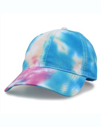 The Game Asbury Tie-Dyed Twill Cap GB482