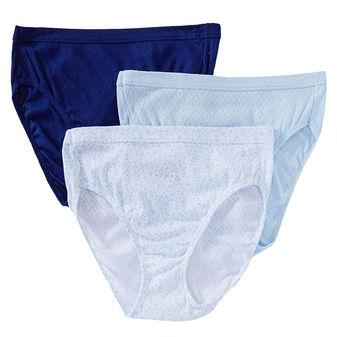 Jockey Women\'s Underwear Elance Breathe French Cut Panty - 3 Pack 1541