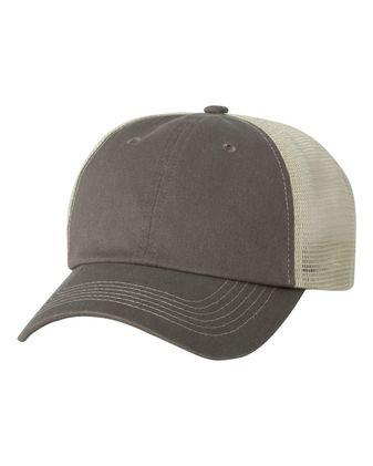 Sportsman Contrast-Stitch Mesh-Back Cap 3100