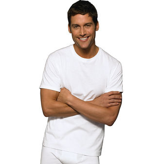 Hanes Ultimate™ ComfortSoft® TAGLESS® Men\'s Crewneck Undershirt 3-Pack 7870W3