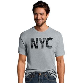 Hanes Men\'s NYC Collage Graphic Tee GT49 Y07074