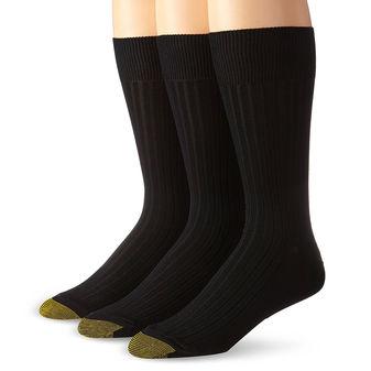 Gold Toe Canterbury Men Crew Sock 3 Pack 794S