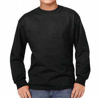 Hanes Youth TAGLESS Long-Sleeve T-Shirt 5546