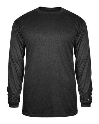 Badger Pro Heather Long Sleeve T-Shirt 4304