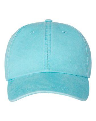 Mega Cap Pigment-Dyed Twill Cap 7601
